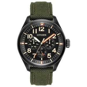 Citizen Eco-Dr Military Dark Green NWT